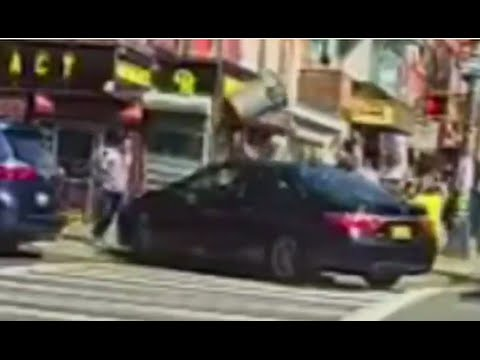 Car Strikes Boy on NYC Sidewalk, Driver Makes Getaway