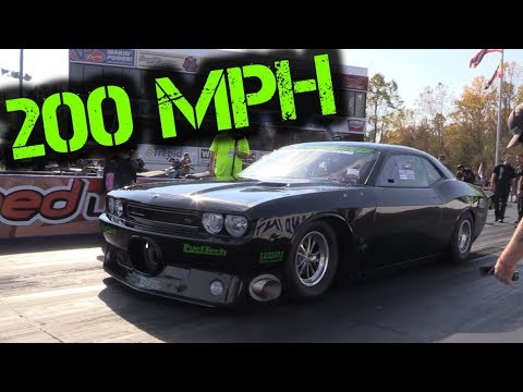Wicked ProCharged Dodge Challenger Soars to 200+ MPH, 6-Second ...
