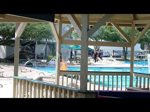 Texas News - Plane crashes into Katy, Texas community center