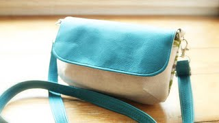 Handtasche selber nähen - Schnittmuster Eleni von Unikati nähen mit Verlosung und Rabattaktion!