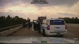 Dashcam Video: Arkansas Police Chase and Shooting