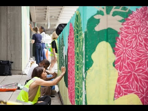 Grounds to Gather: Community Painting Session Engages Midtown Community