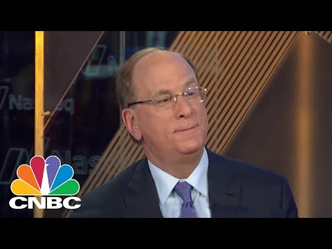 Larry Fink: We Are Not Substituting Machines For Humans | Squawk Box | CNBC