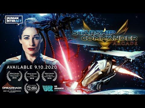 STARSHIP COMMANDER: Arcade Story Trailer