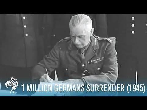 1,000,000 German Soldiers Surrender [Full Resolution]