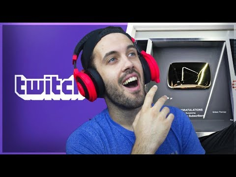 GOLDEN PLAY BUTTON ILI MILION NA TWITCHU? * WOULD YOU RATHER *