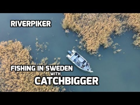Pike Fishing In Sweden With Catchbigger Ep2 - (video 218)