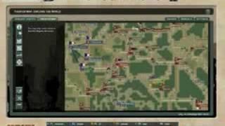WWII Online: Battleground Europe- U.I./Map/Brigade Tour