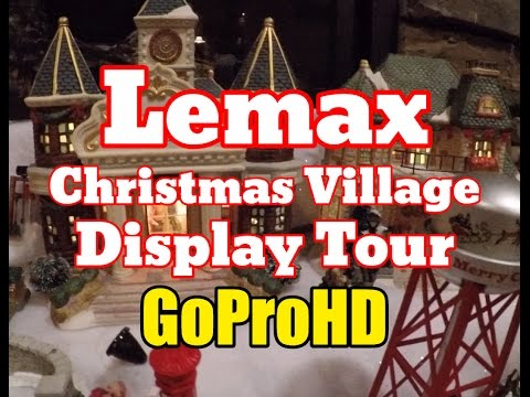 Lemax Christmas Village Town New Gopro Hd Home Display Tour