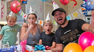 SURPRISE BIRTHDAY PARTY VLOG!
