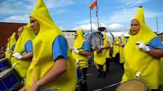 Steeple Defenders going bananas 12th 2011