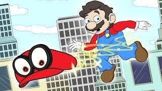 "Super Mario Odyssey Parody | ""Cappy"""