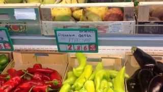 Греция о. Крит Цены в супермаркете на продукты июнь 2014(Греция. Крит. Цены в супермаркете на продукты . Июнь 2014., 2014-06-02T15:37:44.000Z)