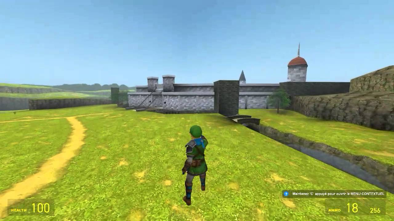 Garry S Mod The Legend Of Zelda Ocarina Of Time 3d Livestream Archives Hyrule Field Youtube