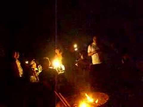 Camping night at Pfeiffer Big Sur SP