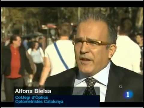 Notícia emesa per TVE el 26 d'octubre en referència a la Campanya Viu en 3D