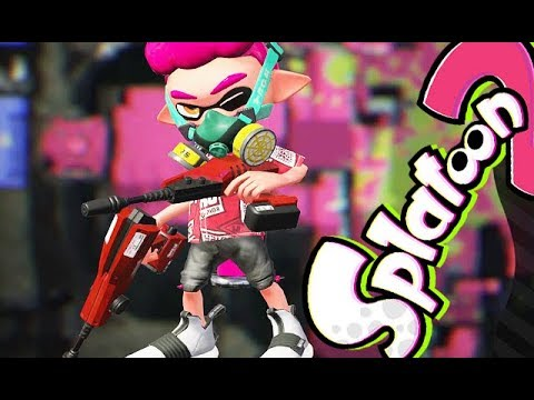Splatoon 2 - Trying Out a New Weapon [Turf War] - Nintendo Switch