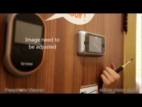 Brinno Peephole Camera VS Door Camera Installation Comparison