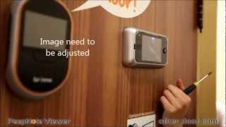 Brinno peephole camera VS Door camera installation comparison