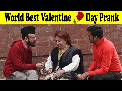 Valentine's Day Special Prank With Afghan Lady In Pakistan | Happy Valentine Day To All | Love |