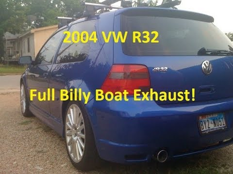 2004 vw r32 exhaust sound youtube. Black Bedroom Furniture Sets. Home Design Ideas