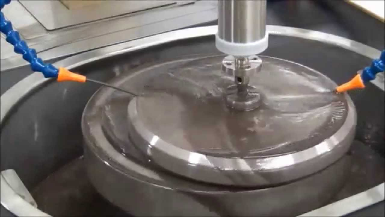 Optotech Nc Controlled Grinding Lapping And Polishing