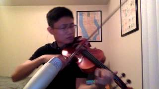 Swimming Pools (Drank) - Kendrick Lamar Violin Freestyle