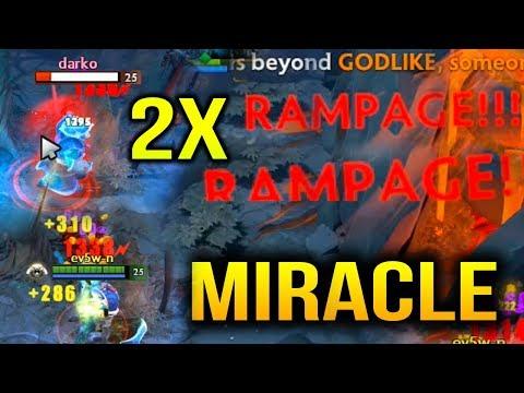 MIRACLE RAMPAGE Phantom Assassin CRAZY MGOD CARRY Dota 2 thumbnail