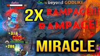 MIRACLE RAMPAGE Phantom Assassin CRAZY MGOD CARRY Dota 2