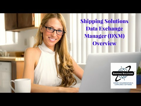 Shipping Solutions® Export Software—Overview of Data Exchange Manager
