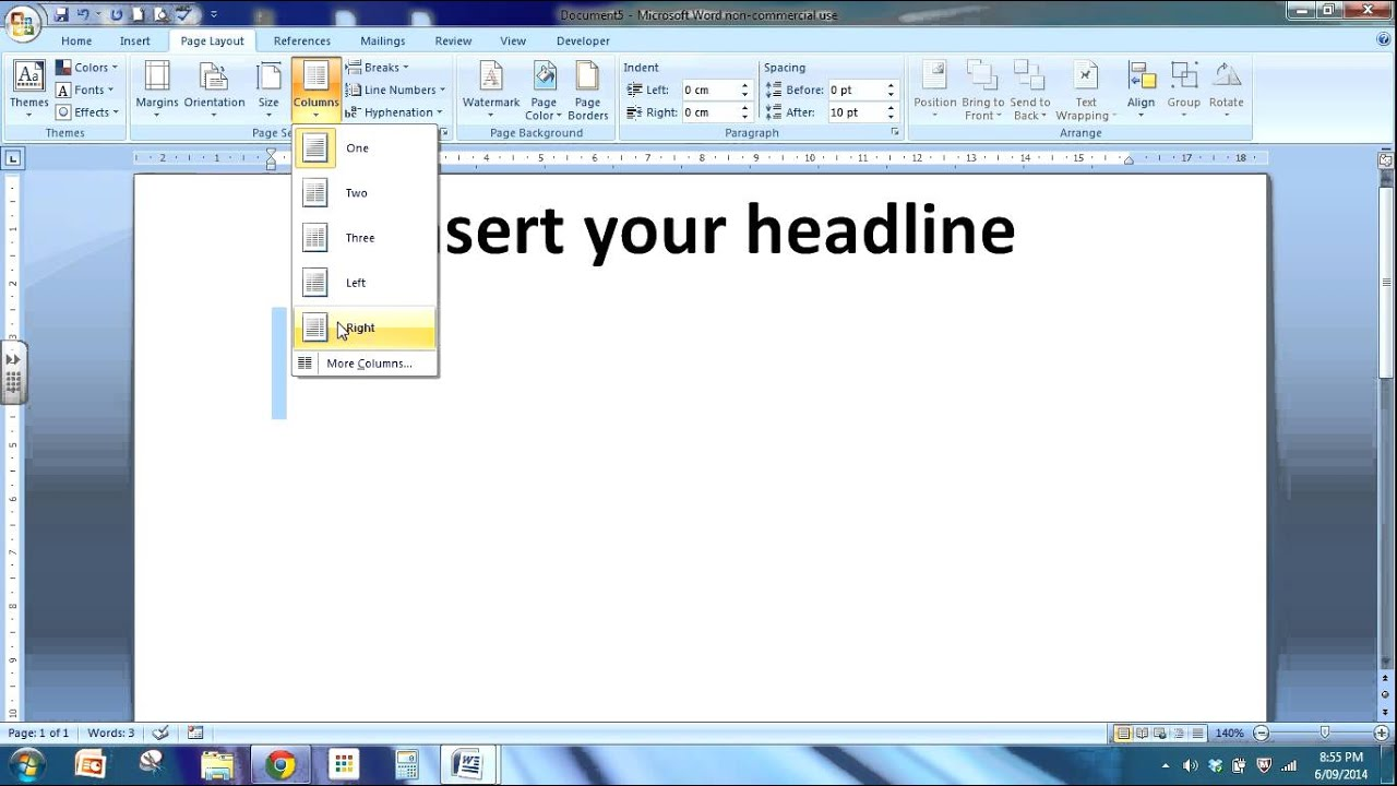 how to write a newspaper