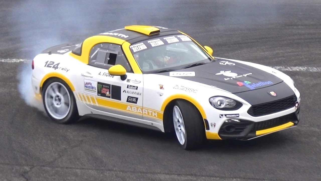 abarth 124 r gt rally car sound monza rally show 2016 youtube. Black Bedroom Furniture Sets. Home Design Ideas
