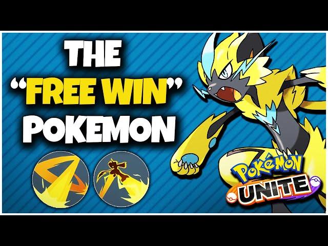"The ""Free Win"" Pokemon (Pokemon Unite)"