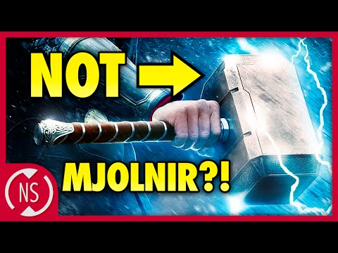 THORS HAMMER was Originally Called What?! || NerdSync