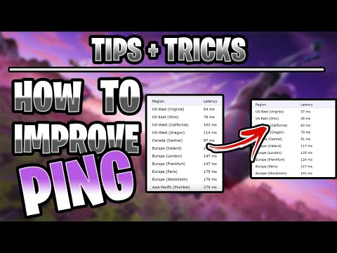 FORTNITE How To Get Better/Lower Ping On PC/Xbox/PS4! (Tips & Tricks To Reduce Lag))