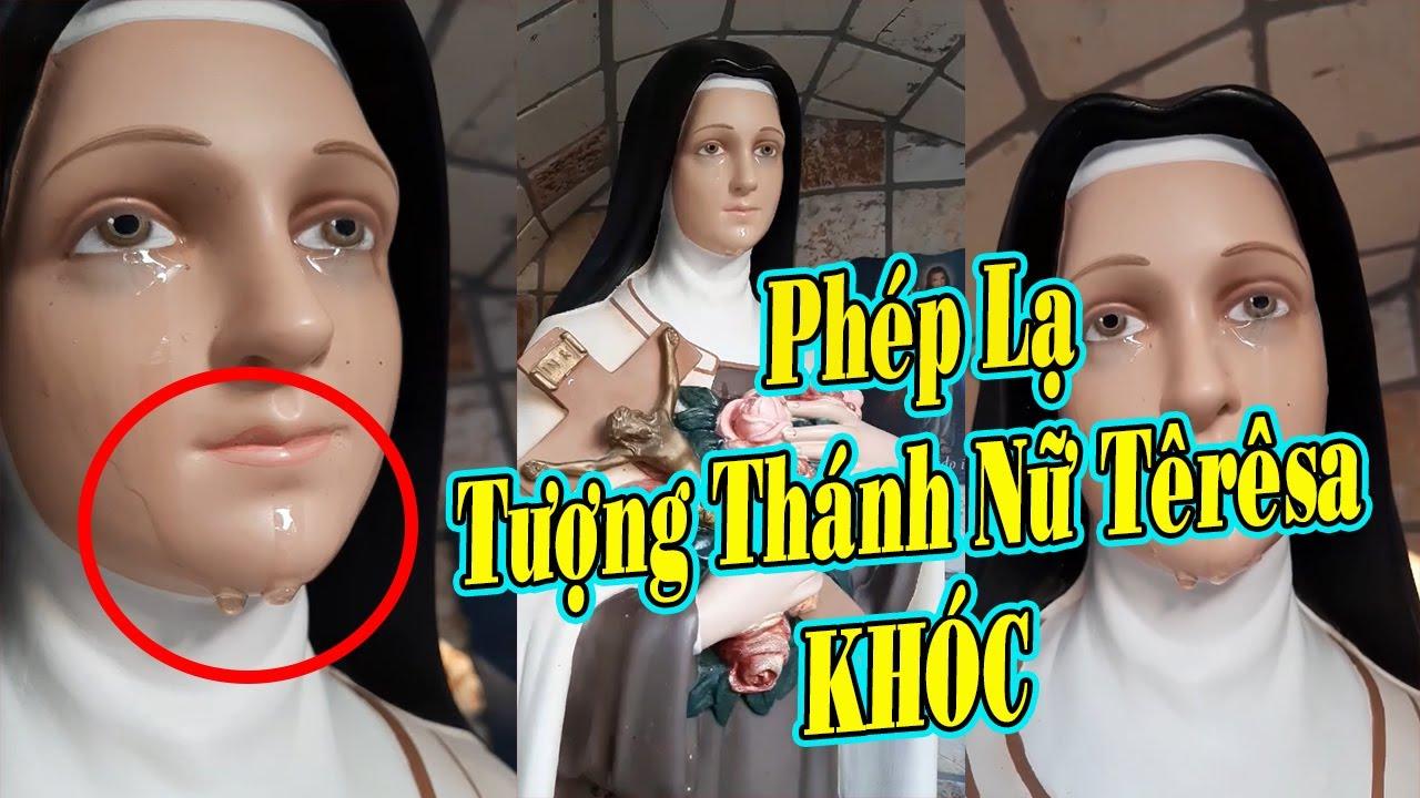 Phép Lạ: Bất Ngờ Tượng Thánh Nữ Têrêsa Hài Đồng Giêsu Khóc Tại Ý Ngày 12/11/2020