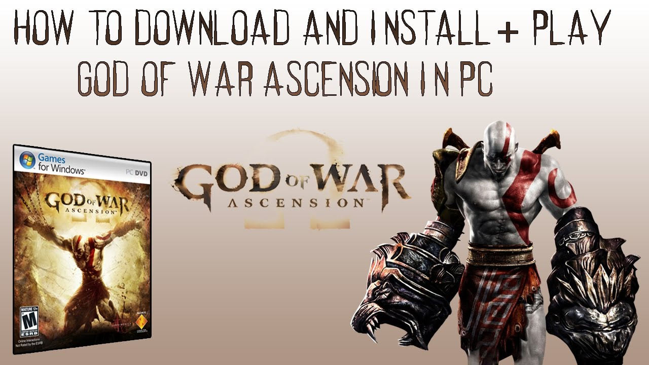 god of war ascension game free download for pc
