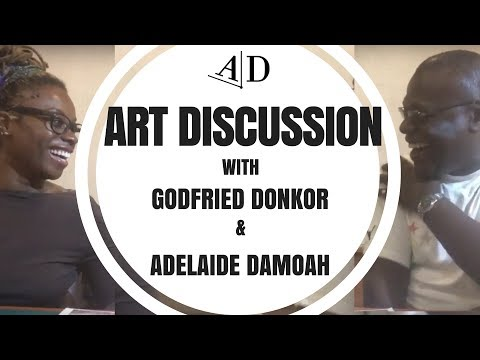 Godfried Donkor, Art Discussion: in Conversation with Adelaide Damoah