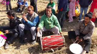 Pahari Dhol Shehnai Dance || Mandyali Ladies Desi Dance || Himachali Culture Music Dance