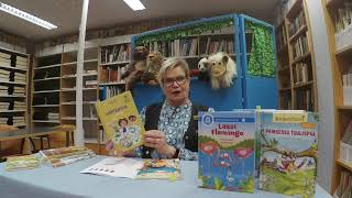 Heinolan kirjaston kirjavinkkejä 2.-luokkalaisille