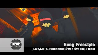 Video [K-HIP HOP] Eung Freestyle(응프리스타일)_Live, Sik-K, Punchnello, Owen Ovadoz, Flowsik (English Sub MV) download MP3, 3GP, MP4, WEBM, AVI, FLV Oktober 2017