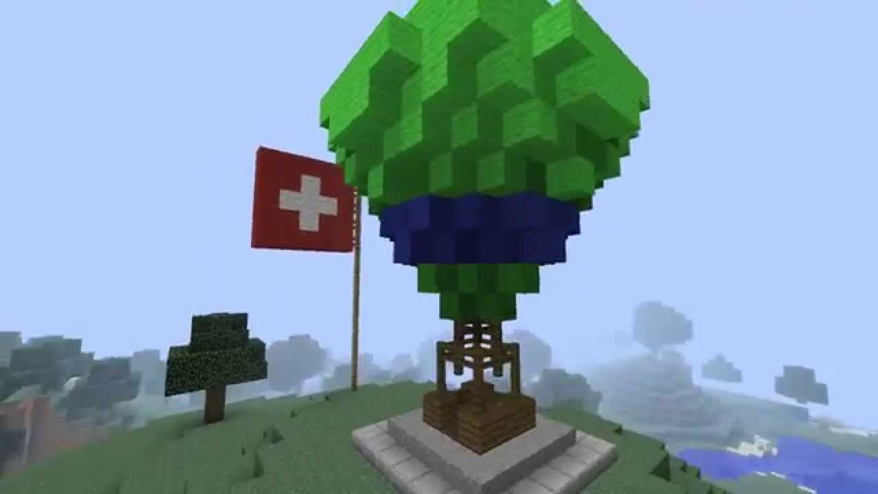let 39 s show minecraft heissluftballon youtube. Black Bedroom Furniture Sets. Home Design Ideas