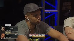 Phil Ivey - Huge River All-In Poker - 2016 Aussie Millions $100k Challenge | PokerStars