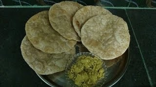 How to cook RADHABALLOBI / CHANA DAL KI STAFF PURI / KACHORI