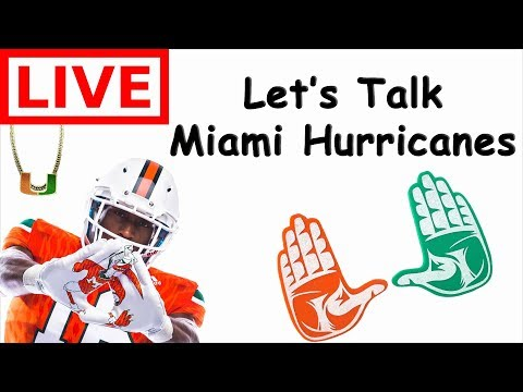 Miami Hurricanes Chat And GIVEAWAY -LIVE HANGOUT-
