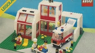 Lego 6380 Emergency Treatment Center - stop motion review