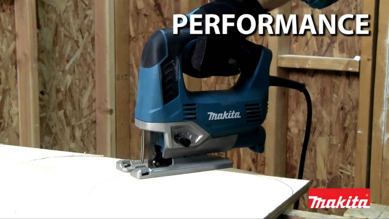 Makita variable speed top handle jigsaw jv0600k youtube makita variable speed top handle jigsaw jv0600k greentooth Images