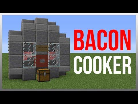 Minecraft 1.12: Redstone Tutorial - Pig Cooker!