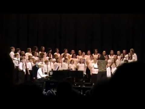 "Jefferson Middle School Youth Chorale- ""Jamaican Noel"""