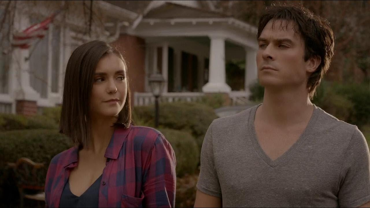 Download The Vampire Diaries 8x16 Finale: Damon and Elena Human Together HD